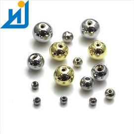 2MM 30MM Stainless Round Steel Balls With M2 Threaded Screw Hole Sandblasting