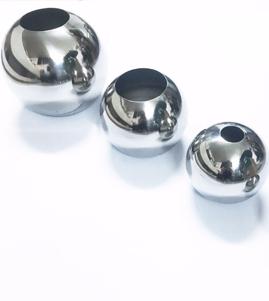 Stainless Steel Gazing Ball with 23H Twisted Stand